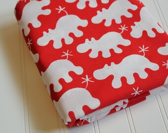 Ikea Red Hippo Fabric