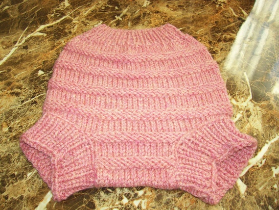 Hand Knitted Wool Cloth Diaper Cover Knit Cloth Diaper Wool Etsy