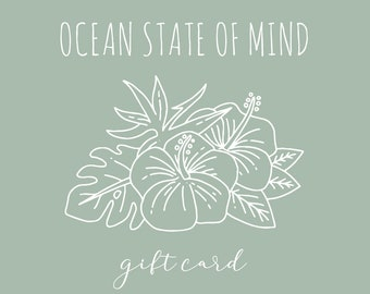 Ocean State of Mind Gift Card