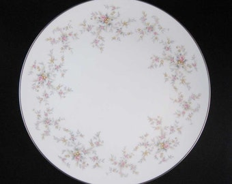 Noritake Arlene Dinner Plates #5802 (2) Circa 1950's Japan