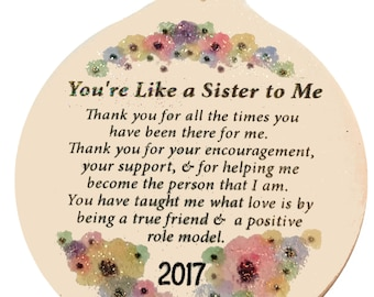 Like A Sister To Me Etsy
