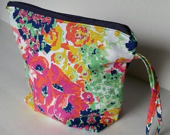 FLANNEL+FLEECE HANDMADE Project Bag - Floral