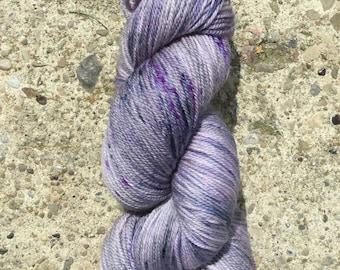 SW Merino/Cashmere/Nylon Yarn - Silver Lilac - Fingering/Sock weight yarn - 385 yds. 80 SW Merino/10 Cashmere/10 Nylon