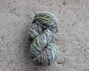 Hand-spun Yarn - Chunky weight - approx. 74 yds.