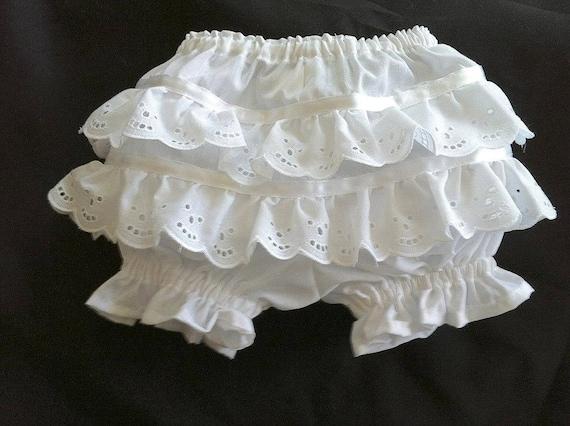 EASTER Bonnet Sunhat  White Eyelet Lace sz nb,3,6,9,12,18 mo shower baby gift