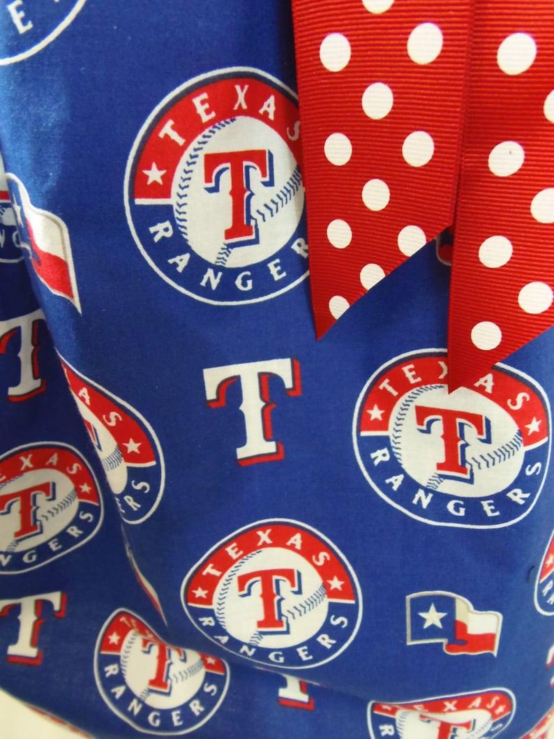 3T 4T Texas Rangers Pillowcase Dress Sundress
