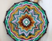 Songcatcher, an 18 inch, 12-sided, all wool ojo for custom ordering