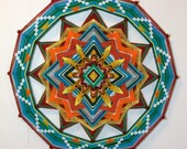 Sunshine to the Heart, 24 inch, 12 sided Ojo de Dios, by custom order