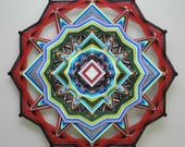 Love Conquers All, a 24-inch, 12-sided Mandala by custom order