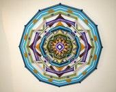 Summer Moon, a 24-inch 12 sided mandala