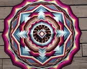 """Over Time and Tide and Death, 36"""" Ojo de dios, in stock, by Elizabeth Tingley"""
