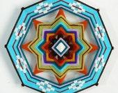 Star Bright, a 12 inch Ojo de Dios, by custom order