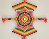 Sparkling Jewel, a 12-inch, 8-sided Mandala by custom order