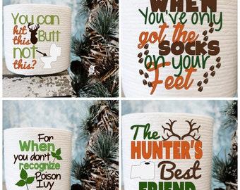 Toilet Paper Gag Gift For The Avid Hunter Christmas Birthday Man Gifts Under 10 Dollars 5