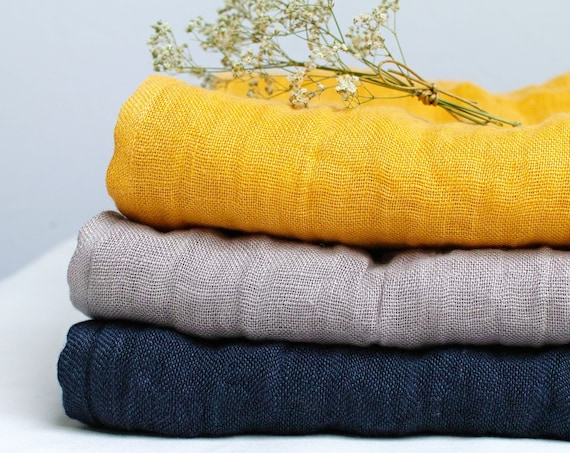 soft linen scarf for women, pure softened lightweight scarf SHAWL wrap women, pure linen,  linen accessories women