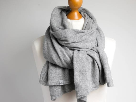 Wool scarf, gray scarf,  WINTER fashion, gift ideas, winter fashion accessories, gift ideas, wool scarf, chunky scarf for winter, shawl wrap