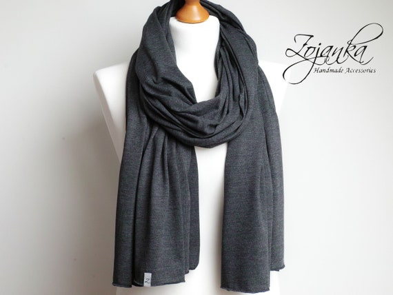 Cotton jersey shawl wrap, large shawl, fashion scarf for women, fashion accessories, ecofriendly scarf handmade, cotton wrap, cotton shawl