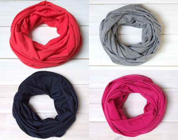 Toddler Infinity SCARF kids scarf  Loop scarf for 3-6 years old, one size scarf for kids, cotton accessories for kids, gift ideas