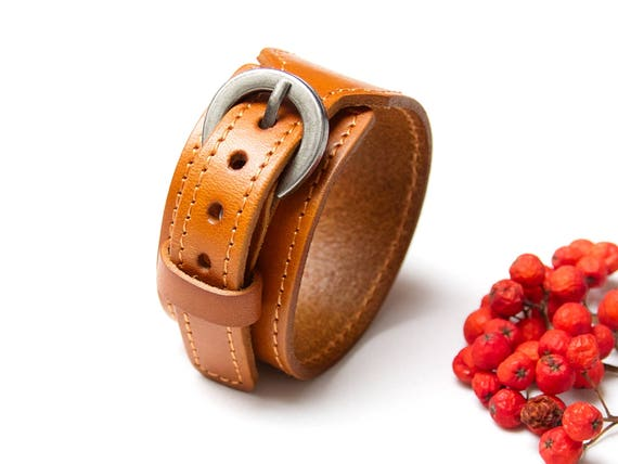 Leather band cuff bracelet, boho style leather cuff, bracelet, fashion accessories,  tan leather cuff bracelet, scarf strap, scarf cuff