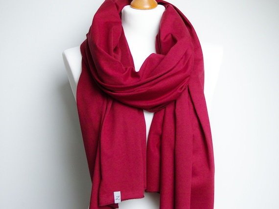 Cotton SHAWL for women, large cotton wrap, burgundy scarf, ecofriendly scarf handmade, cotton wrap, cotton, fall scarf, dark red scarf