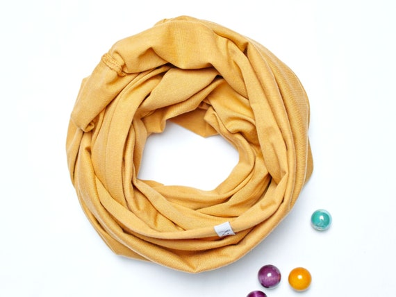 Cotton Infinity SCARF for 3-7 years old kids, one size scarf for kids, cotton accessories for kids, gift ideas
