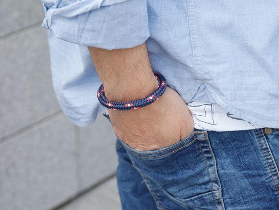 MEN rope bracelet, nautical rope bracelet, MEN bracelet, man accessories, gift for him, gift ideas, men jewelry, rope bracelet, gift ideas