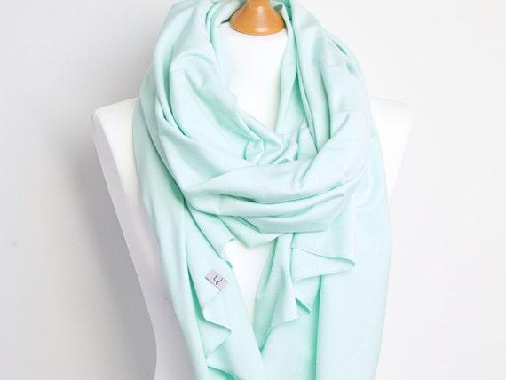 Cotton SHAWL, large wrap, fashion scarf, fashion accessories, ecofriendly scarf handmade, cotton jersey wrap, cotton shawl, pastel scarf