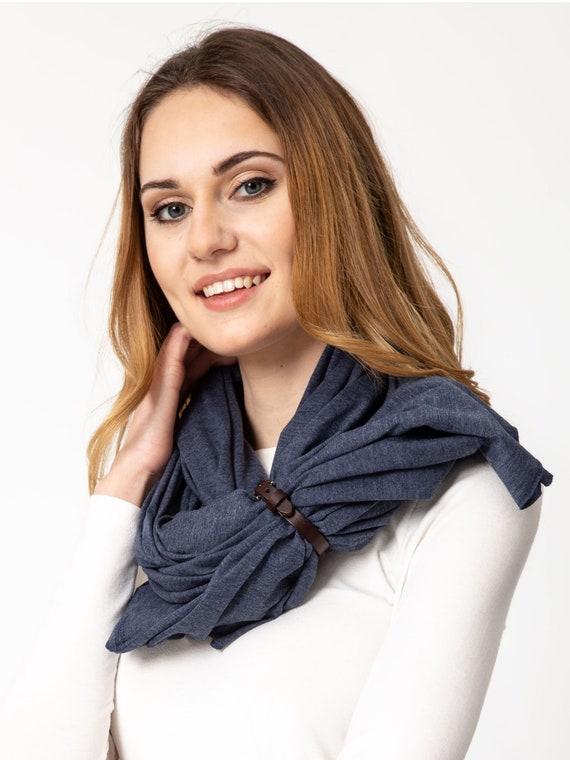 Women cotton scarf wrap, fashion scarf, ecofriendly scarf handmade, women cotton shawl, cotton spring shawl