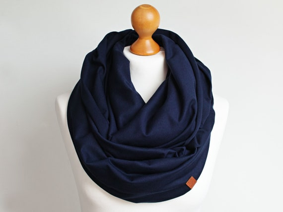 Infinity SCARF, large Shawl Loop, oversized infinity scarf, cotton scarf, tube scarf, SPRING AUTUMN scarf, women scarf gray cotton
