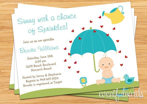 Baby sprinkle shower invitation for boy also available in etsy image 0 filmwisefo