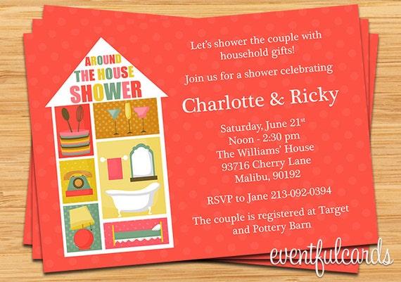 Around the house wedding shower invitation etsy image 0 filmwisefo