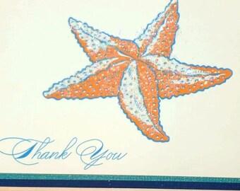 Oceanía Blank Note Cards + Envelopes