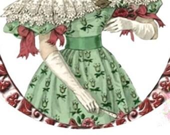 Joy, Jane Austen Inspired Holiday Envelope Seals