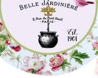 Belle Jardiniere French Inspired Envelope Seals