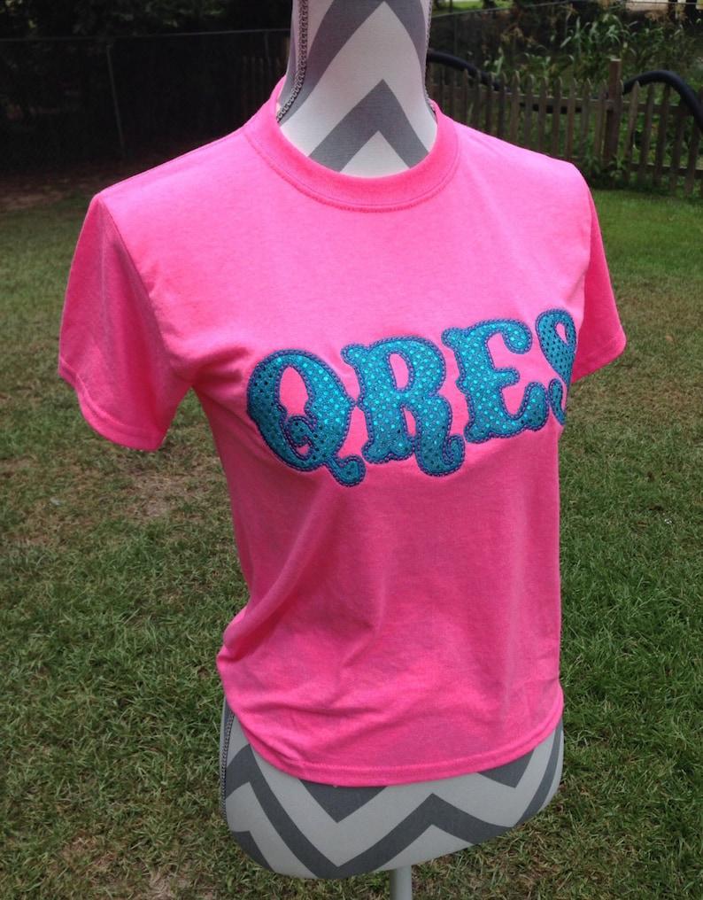 5c37f0c686ca43 Children's Appliqué School Shirt Sweatshirt or Hoodie   Etsy