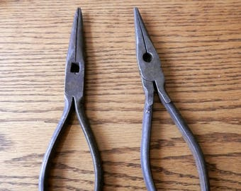 choice pair of needle nose pliers vintage tool