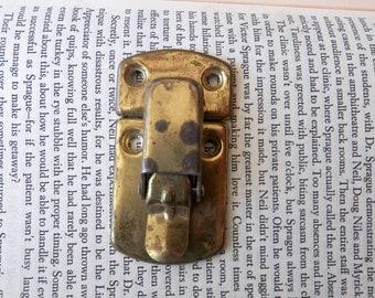 chest steamer antique vintage new Left Hand Interior Trunk Tray Pivot Hinge