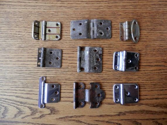 Choice Antique Kitchen Cabinet Or Hoosier Type Cabinet Hinges Etsy