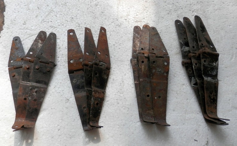 original trunk or chest hinge sets 3 pc sets choice wood workers restorers