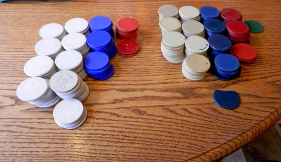 poker chips etsy