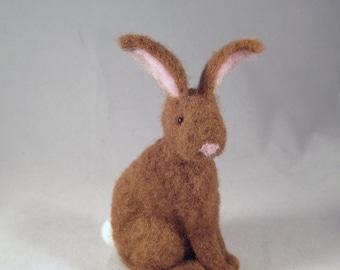 Animals, Felted Animals, Gift for Her, Needle Felt, Woodland Animals, Needle Felted Bunny, Collectible, Forest Animals, Felt Animals, FElt