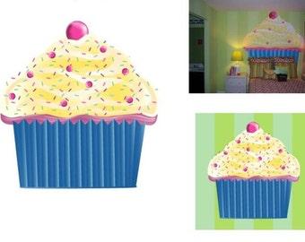 Cupcake Headboard