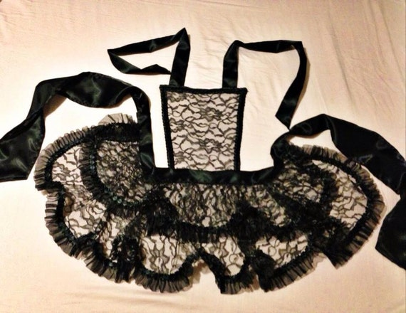 Hot Chick Aprons After Dark handmade lingerie apron