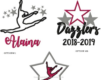 Dazzlers Dance Team Hand Towel - Gift for dance drill team dancer - Dance team gift