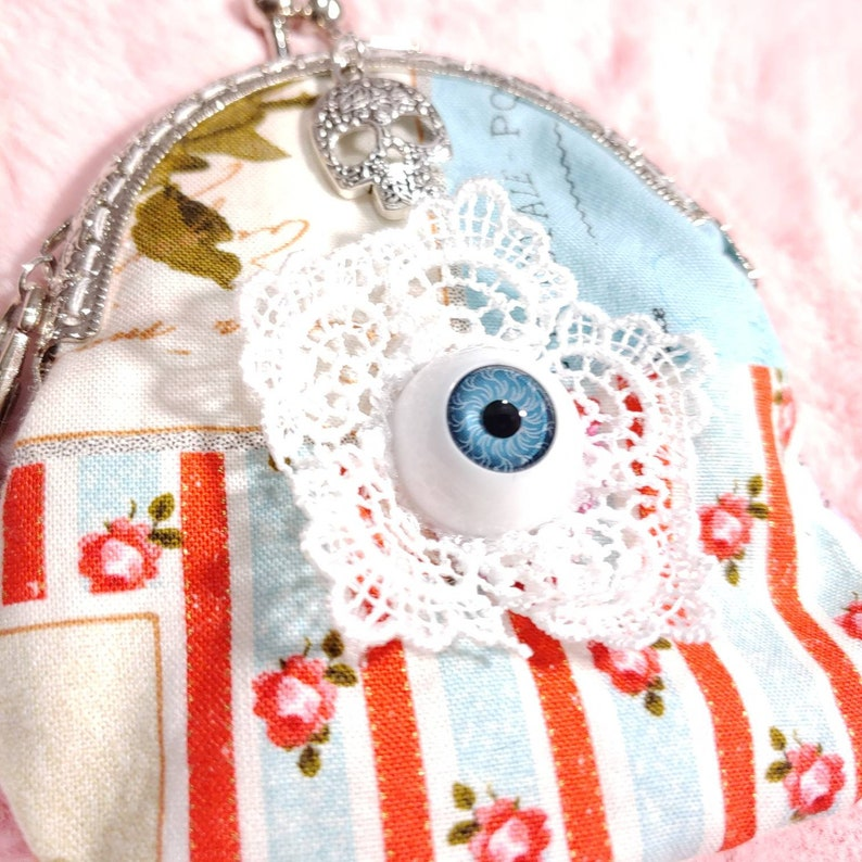 stash holder Strange and unusual coin purse oddities vintage coin purse mothers day gift Victorian coin purse feminine coin purse