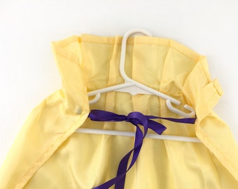 Ready to Ship - Child's Yellow Satin Cape