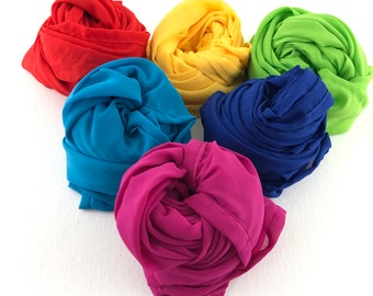 Children's Large Play Silk, Play Scarf - Available in 6 colors