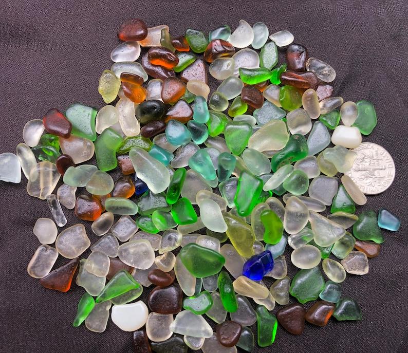 A-Sea Glass or Beach Glass of HAWAII beaches 200 Jewelry image 0