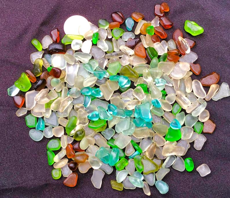 A-Sea Glass for Jewelry  Beach Glass of Hawaii 300 AQUA SALE image 0