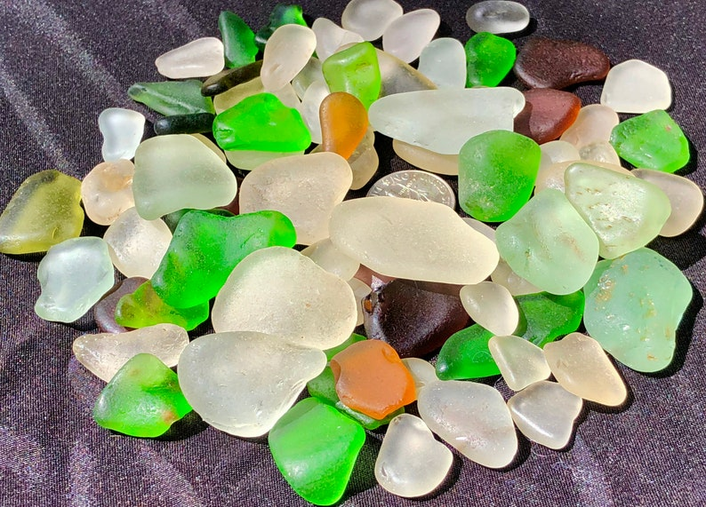 Sea glass for Collectors A-Sea Glass Beach glass of HAWAII image 0